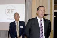 Israel's Ambassador to London, Zvi Heifetz (right) with Andrew Balcombe, Chair of the Zionist Federation